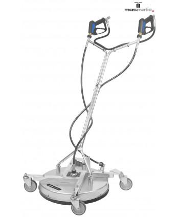 Limpiador de superficies FL-AHK-KAU Ø520mm con limpia chicles con protector de goma