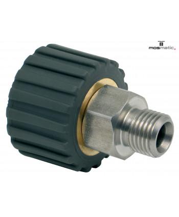 "Racor DKS de acoplamiento giratorio M21x1.5F-G3/8""M"