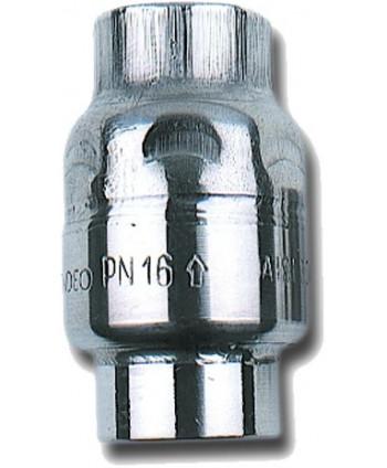"""Válvula antirretorno inox. 1/2"""" de baja presión"""