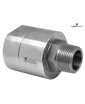 """Racor DGEI de alto caudal 3 Rod. G1 1/2""""F-G1 1/2""""M"""