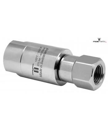 "Racor giratorio DGLIV 3 Rod. Inox. Vitón G1/4""F-G1/4""F NW6"
