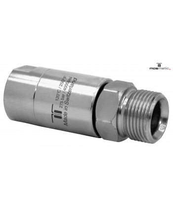 "Racor giratorio DGL 3 Rod. G3/8""F-M21x1.5M NW6"