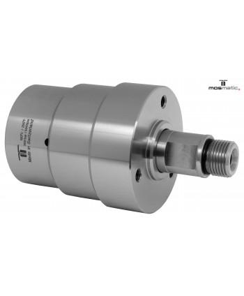"Racor giratorio recto DYT 4 Rod. G3/8""F-G3/8""M NW6 350bar"