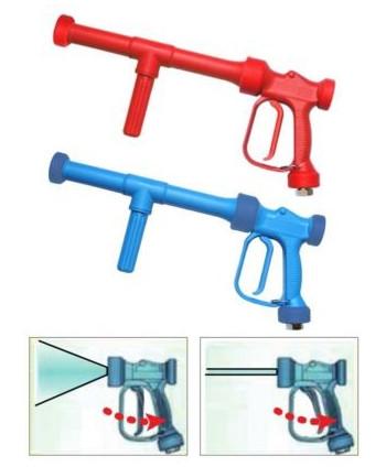 Pistola baja presión RB 65-350 - 350mm Lan. - Chorro regulable