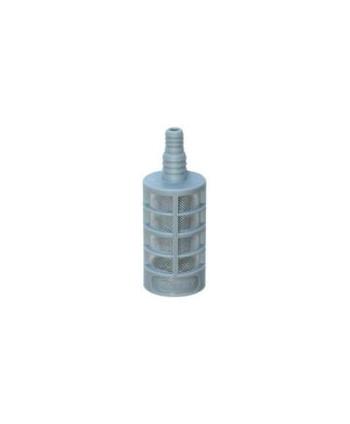 Filtro detergente plástico con válvula antirretorno PP+Latón