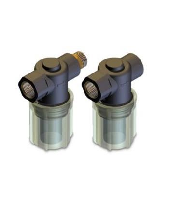 Filtro aspiración F5 L plástico G1/2H-Gc1/2M 300 micras