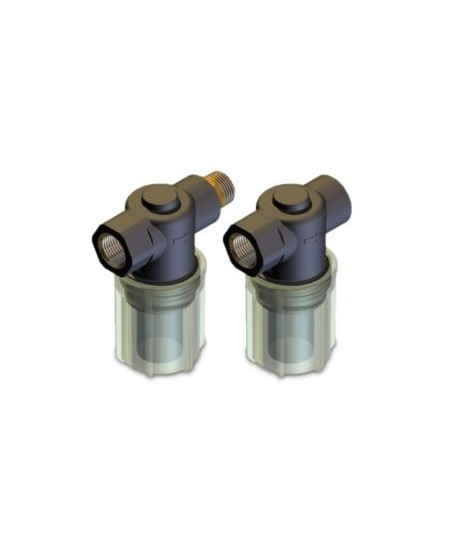 Filtro aspiración F5 L plástico G1/2H-G1/2H 150 micras