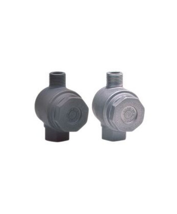 Filtro FA 1 aluminio con bypass G1/2H-G1/2M 400 micras