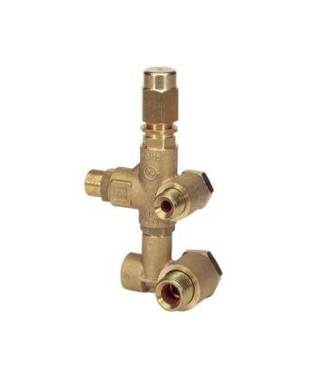 Válvula de regulación VB 135 Entreeje X:5 Y:53 G3/8xG1/2 Bomba AR XT-HPE
