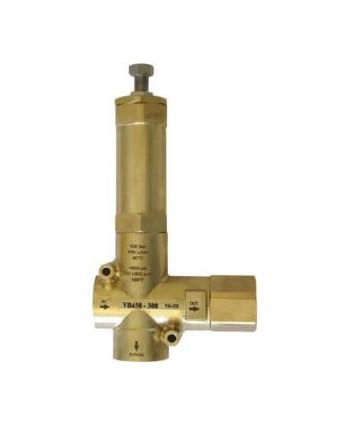 """Válvula de regulación VB 450-200 IN G1""""1/4H-OUT G1""""1/4H Bypass G1""""1/2H"""