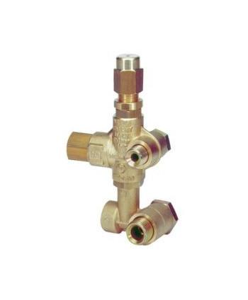 Válvula de regulación VB 75 Entreeje X:4,5 Y:64 G3/8xG1/2