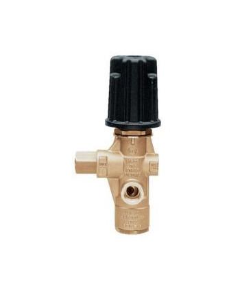 Válvula de regulación VB 10 con puño G3/8H-G3/8H Bypass G3/8H + pistón inox