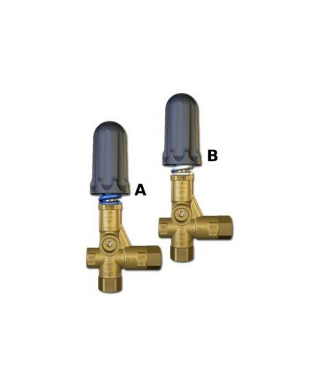 Válvula de regulación Pulsar RV con puño Tipo B Salida 3/8 Npt H