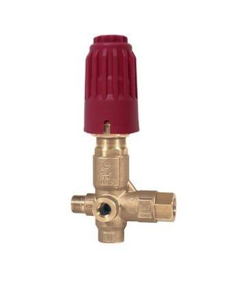 Válvula de regulación VB 350 con puño G3/8M-G3/8H Bypass G1/2H