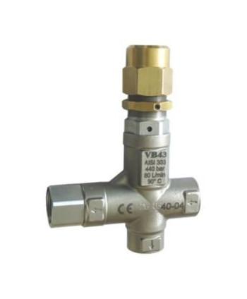 Válvula de regulación VB 43 AISI 303 Racor G1/2H