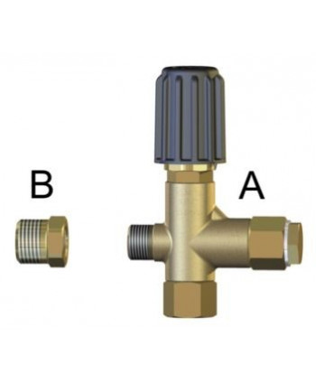 Válvula de regulación STR 0130 ADJUSTING BYPASS NEEDLE Tipo A