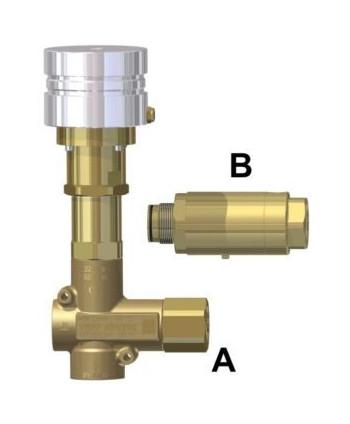 Válvula de reg. de presión VRPP 450-200 Neumática Tipo A