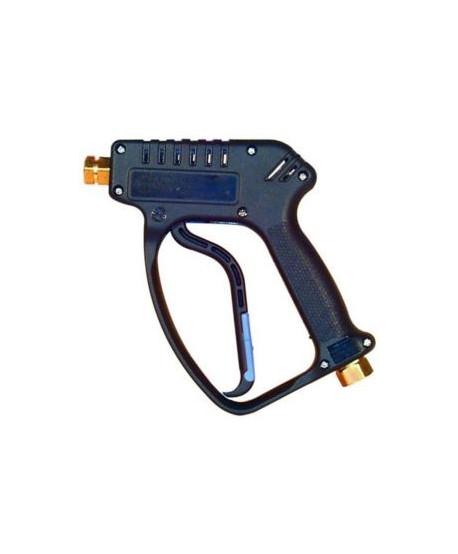 """Pistola P.A. Vega azul entrada 3/8"""" salida 1/4"""" con fuga"""