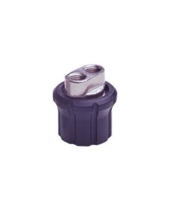 Portaboquilla TD1P Cabezal doble con protección G1/4H-2x1/4 Npt H