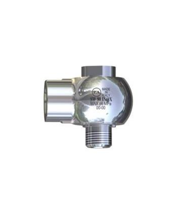 Junta giratoria de 90º SW90-600 Acero Inox IN G1/2M-OUT G1/2H