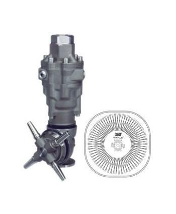 Cabezal semoviente A80R para Limpieza de cisternas Caudal máx. 40-50 l/min Ø mín. 165mm
