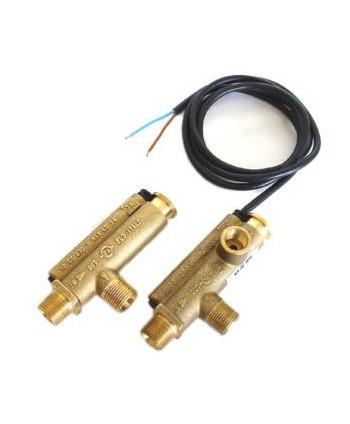 Flusostato con Sonda FL3 Obturador Latón Con hoyo manómetro G1/4H