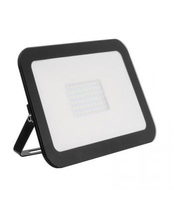 Foco Proyector LED Slim Cristal 50W Negro