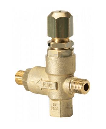 Válvula reguladora de presión BVC 210 bar 25 l
