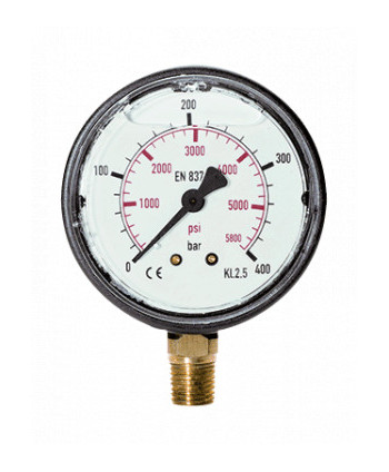 Manómetro radial 0-250 bar