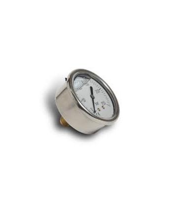 """Manomètre de pression de 0 à 25 bar 1/4"""" axial"""