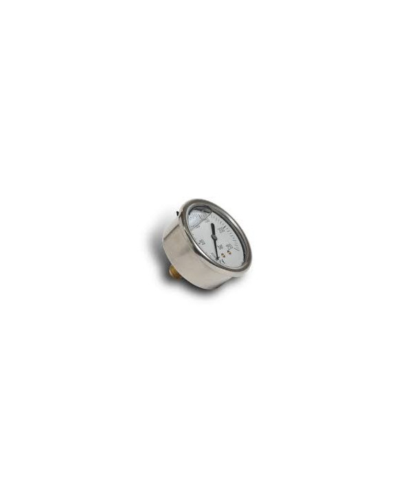 "Pressure gauge 0-25 bar 1/4"" axial"