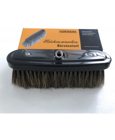Monobloc Brush inox with short bristles 6 cm