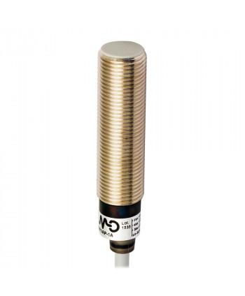 Inductivo 3/D12 detección 4mm cable 2m Enrasable