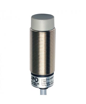 Inductive 2/D18 detection 8mm cable 2m non-flush mountable