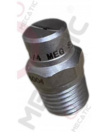 """Nozzle stainless steel  1/4"""" SS 1504 MEG"""
