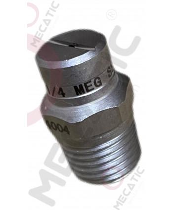 """stainless steel  1/4"""" SS 4004 MEG"""