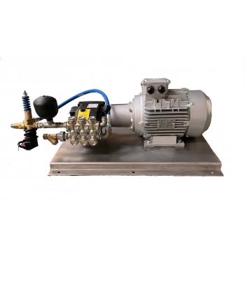 Grupo Completo Motor Bomba HAWK NMT 1220-1520 Bancada INOX