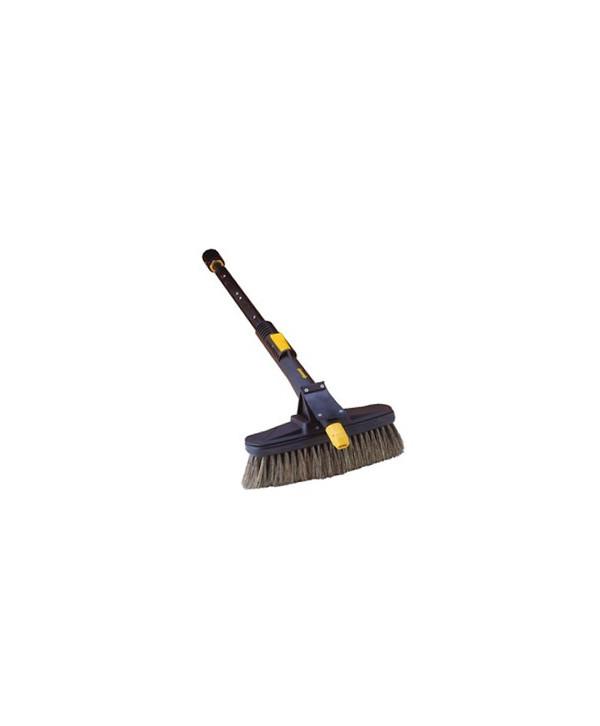 Lance avec la brosse perpendiculaire (compatible karcher)