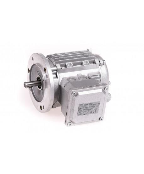 Moteur de 0,18 KW à 1500 tr / min 230/400V, Sans ventilation