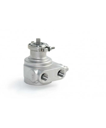 Rotary pump stainless steel. 1000 l/h with bypass