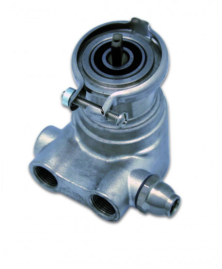 Rotary pump stainless steel. 200 l/h with bypass