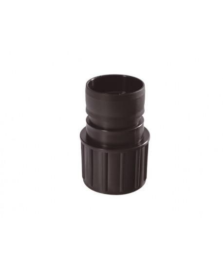 Feste Verschraubung vom Behälter zum Schlauch Ø 38 mm