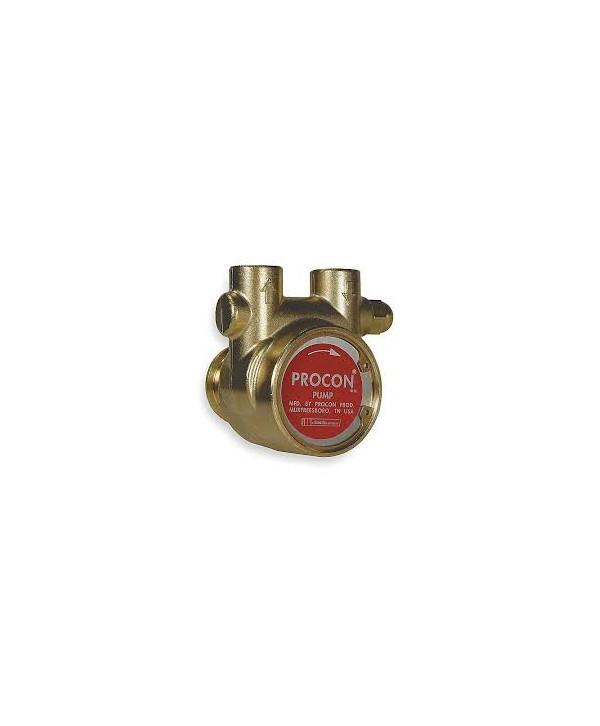Pumpe, rotations -, bronze - 600 l/h mit bypass