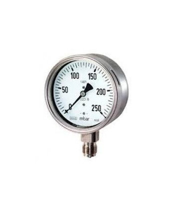 "Pressure gauge 0-250 bar 1/4"" radial"