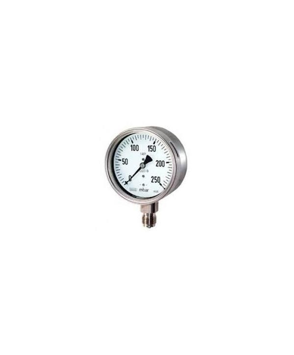 """Manometer 0-250 bar 1/4"""" radial"""