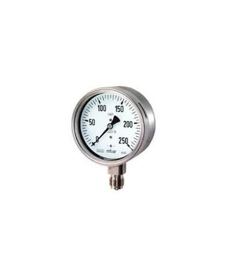 """Druckmanometer von 0-250 Bar 1/4"""" radial"""