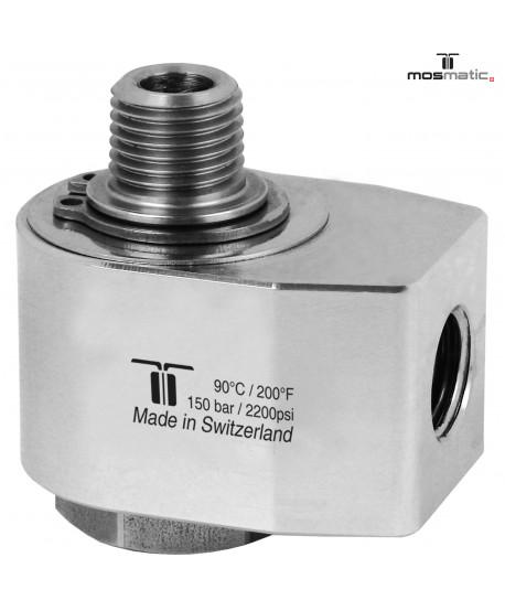 Giunto girevole 90° MF1/4' MOSMATIC