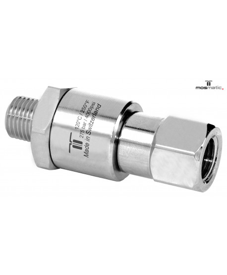 Fitting swivel-straight M-H 1/4' Mosmatic
